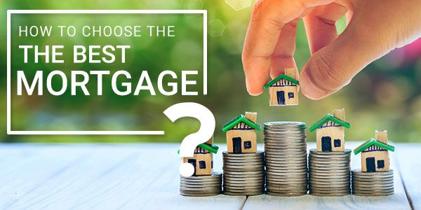 A brief overview of how to choose the best mortgage for you